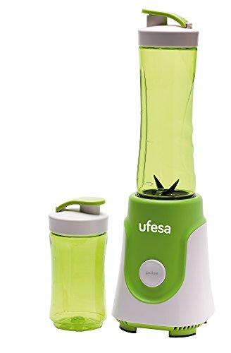 Ufesa BS1000–Standmixer Personal, 250W, 0,6l, abnehmbaren Edelstahl-Messer und geeignet für Eis