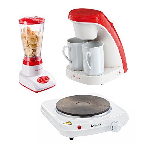 Kochfeld 1Feuer + Kaffeemaschine 2Tassen + Mixer Standmixer
