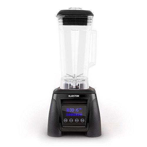 Klarstein Herakles-8G-R Standmixer Power-Blender (1800 Watt, 38.000 U/min., 2 Liter-Krug, Icecrusher, Smoothiemaker) schwarz