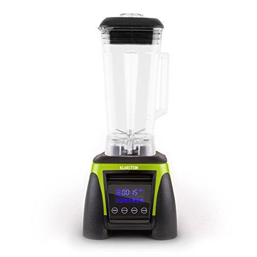 Klarstein Herakles-8G-R Standmixer Power-Blender (1800 Watt, 38.000 U/min., 2 Liter-Krug, Icecrusher, Smoothiemaker) grün